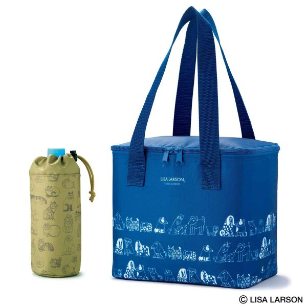 大人のおしゃれ手帖2020年7月号付録:リサ・ラーソン大容量保冷バッグ&ペットボトルホルダー