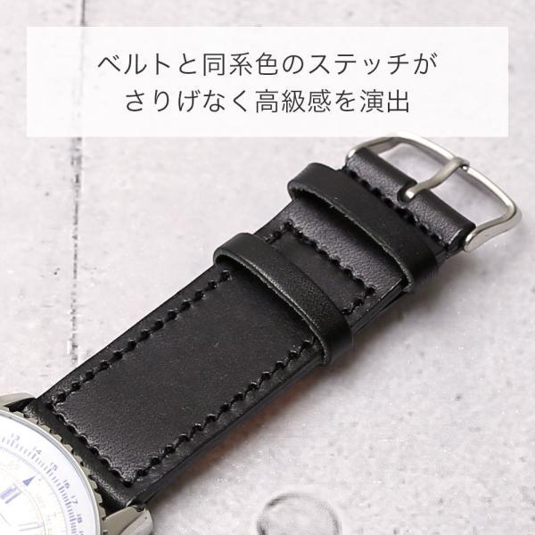 時計ベルト 革 18mm 20mm 22mm 24mm 腕時計 ベルト 替えベルト 栃木レザー 本革 牛革 交換 メンズ レディース おしゃれ|choupet|05