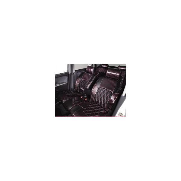 エスティマ 20 ハイブリッド AHR23W (G8人乗り) シートカバー ヴィーナスライン[キャンディードール] K-BREAK(ケイブレイク)