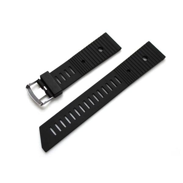 時計ベルト バンド BC ボネット・シンチュリーニ 「281」ラバー素材ストラップ・ダイバーズ 18mm20mm22mm 腕時計(メ)