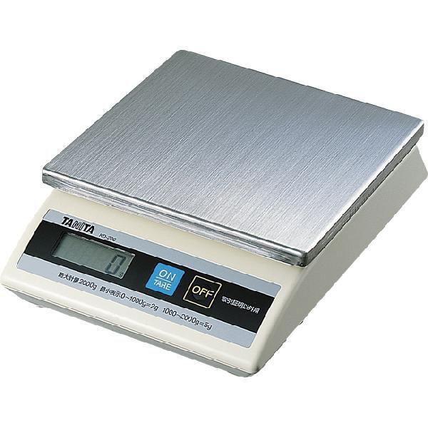タニタ デジタル式卓上スケール KD-200 5kg