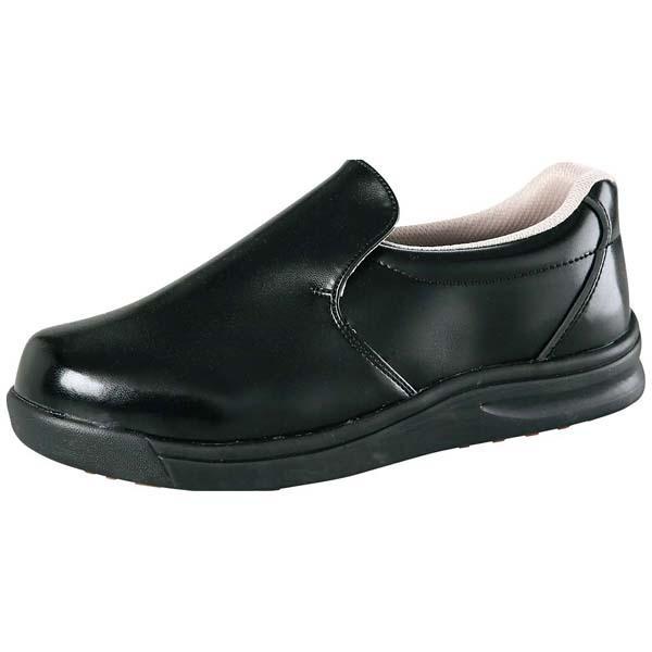 ノサックス 厨房靴 グリップキング 先芯入 黒 GKS-B 30cm(eb-1099710)