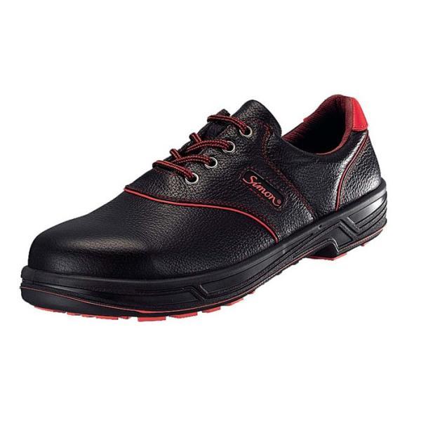 安全靴 シモンライト SL11−R 黒/赤 24cm ebm-p2127-2