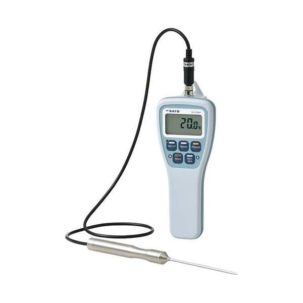 SATO 防水型デジタル温度計 SK-270WP(標準センサー付) ebm-p645-1