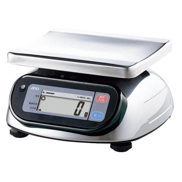 A&D 防水・防塵デジタル台はかり SL-2000WP