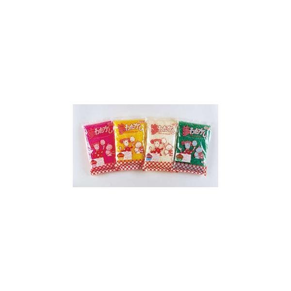 わた菓子用ザラメ 夢わたがし メロン (1kg×20袋入)