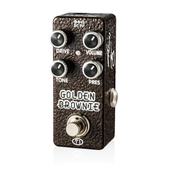 Xvive XV-T1 T1 Golden Brownie Distortion ディストーション エフェクター|chuya-online