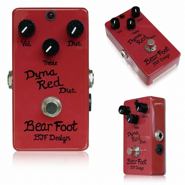 BearFoot Guitar Effects Dyna Red Dist ディストーション|chuya-online