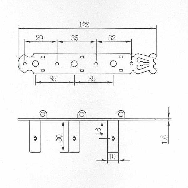 ARIA AT-540C クラシックギター用糸巻き|chuya-online|03