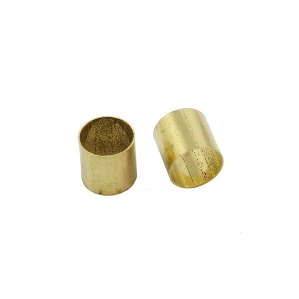 ALLPARTS Electronics 4001 Pack of 5 Brass Pot Sleeves ソリッドシャフト変換