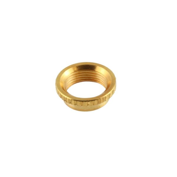ALLPARTS Electronics 4006 Gold Deep Round Nut トグルスイッチ用ナット