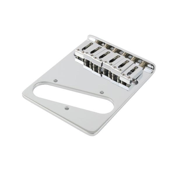 ALLPARTS BRIDGE 6022 Left Handed Chrome Gotoh Bridge for Telecaster テレキャスターブリッジ レフトハンド用