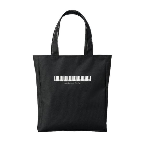 NAKANO BG340FKBBL 鍵盤/ブラック ミュージックレッスンバッグ ジップトップ