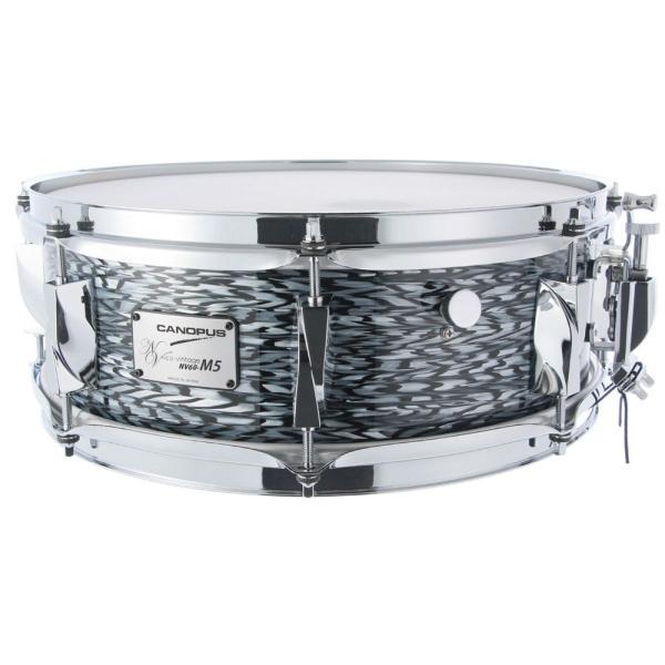 CANOPUS NV60M5S-1450 Black Onyx スネアドラム