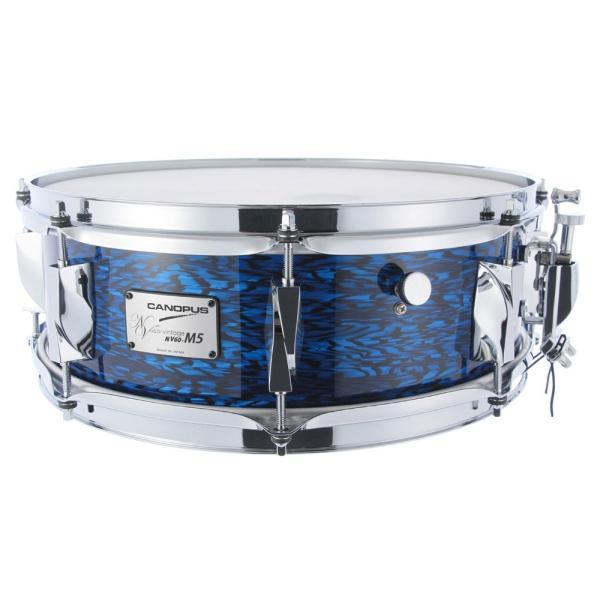 CANOPUS NV60M5S-1450 Blue Onyx スネアドラム
