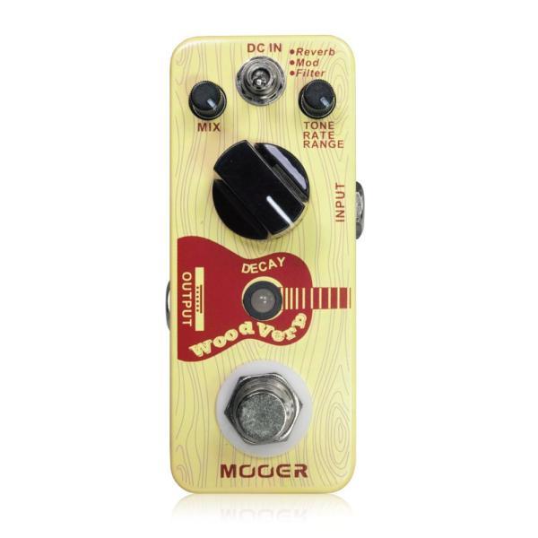 Mooer WoodVerb アコースティック用リバーブ ギターエフェクター