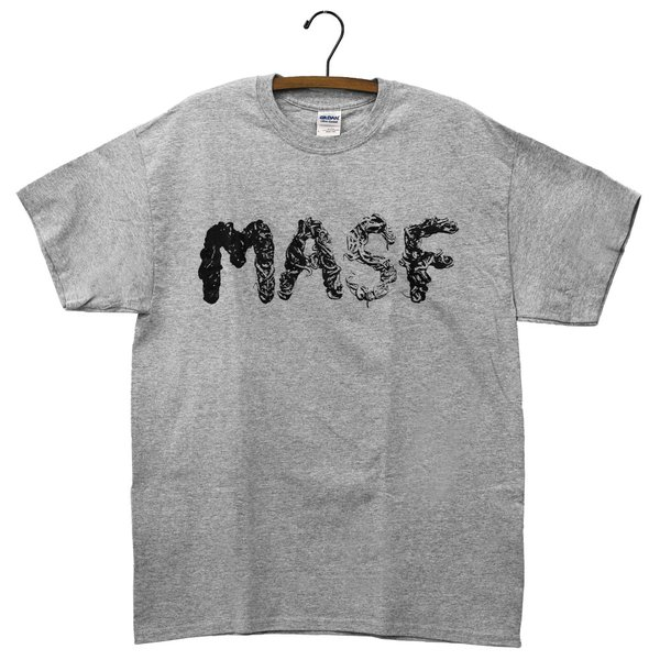 MASF Pedals ロゴTシャツ グレー L