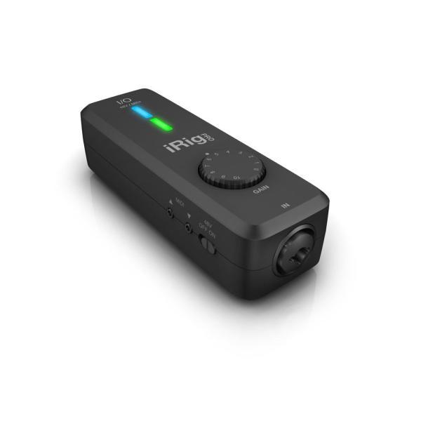 IK Multimedia iRig Pro I/O iPhone対応 オーディオ/MIDIインターフェイス|chuya-online