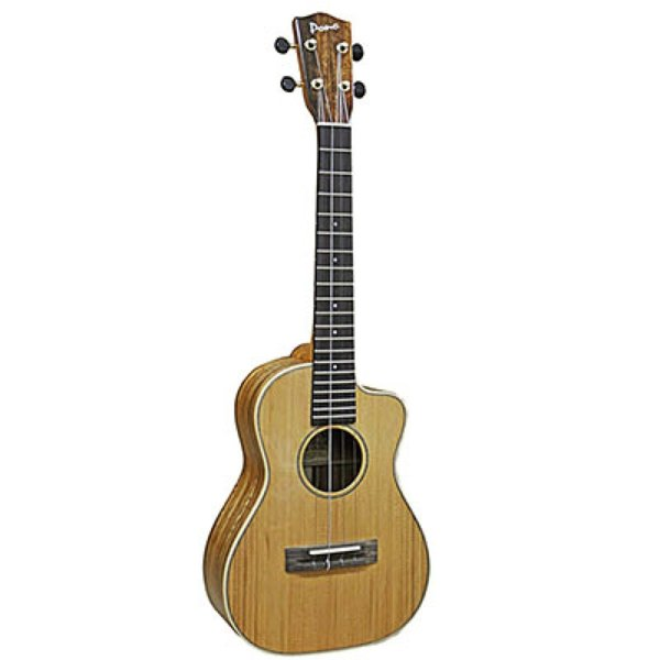 Pono ATDC-CR Tenor Cutaway Cedar Top テナーウクレレ