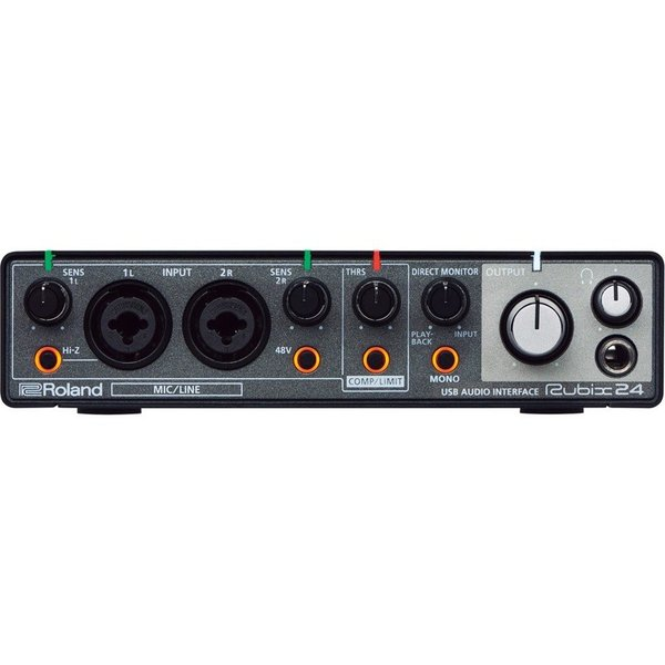 ROLAND Rubix24 USB AUDIO INTERFACE オーディオインターフェイス|chuya-online|02