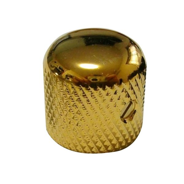 Montreux Brass Dome Knob Gold No.1351 ギターパーツ
