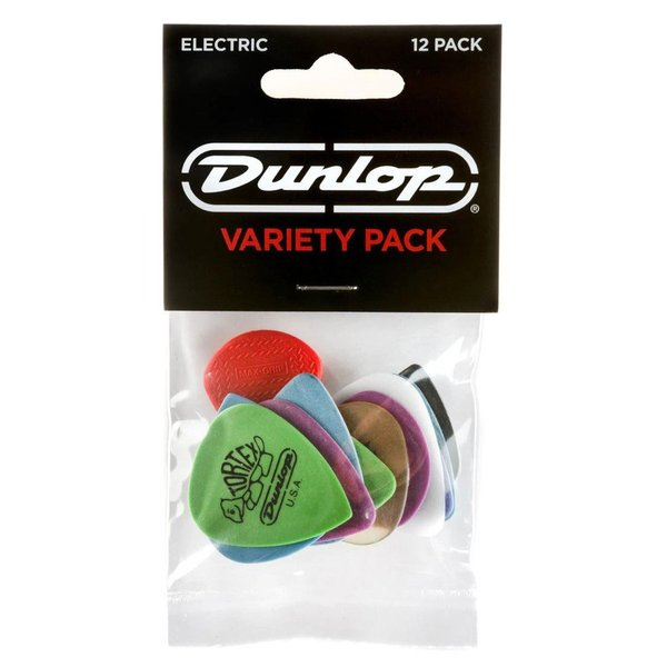 JIM DUNLOP PVP113 VARIETY ELECTRIC VARIETY PACK ピック 12枚入り