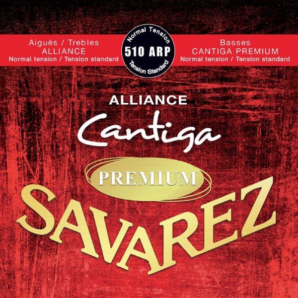 SAVAREZ510ARPNormaltensionALLIANCE/CantigaPREMIUMクラシックギター弦