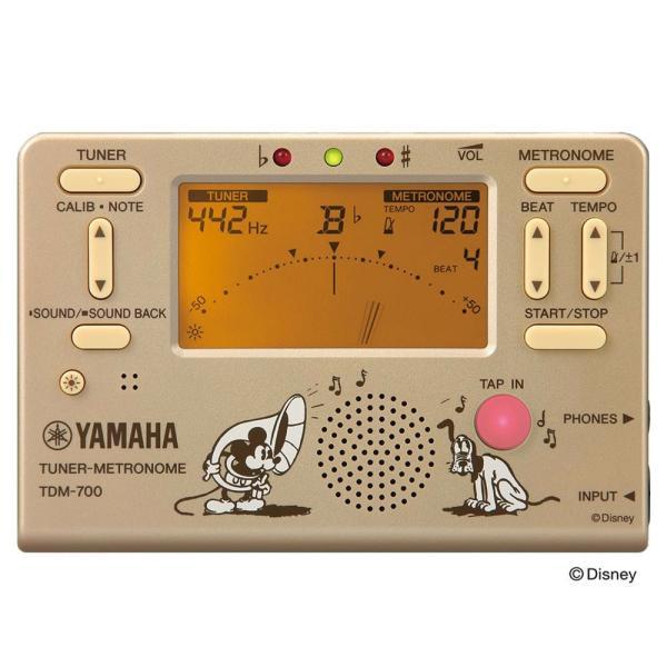 YAMAHA TDM-700DMK ディズニー ミッキーマウス チューナー メトロノーム|chuya-online