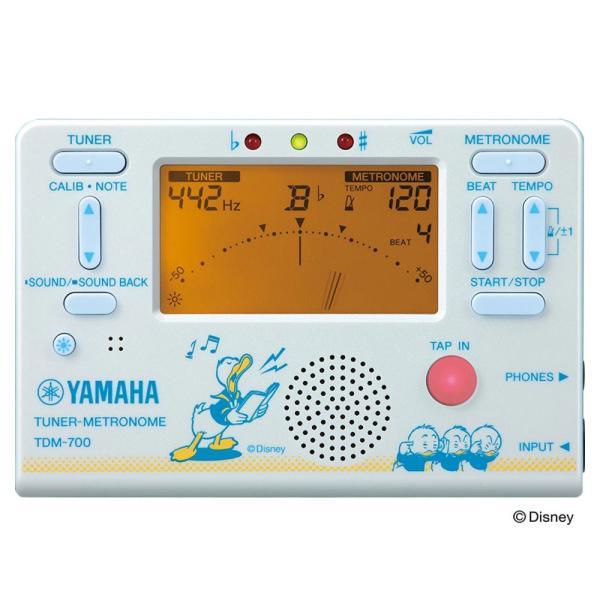YAMAHA TDM-700DD2 ディズニー ドナルドダック チューナー メトロノーム chuya-online