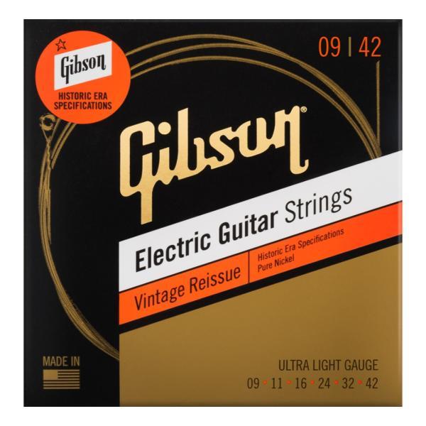 GIBSONSEG-HVR9VintageReissueUltra-Lightエレキギター弦