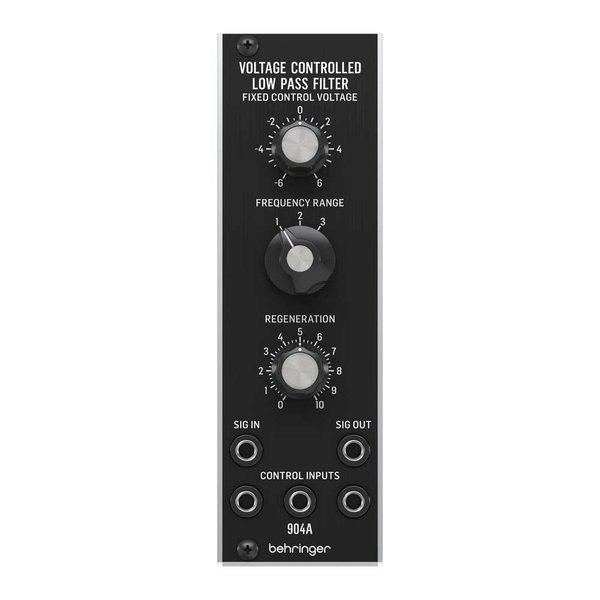 BEHRINGER 904A VOLTAGE CONTROLLED LOW PASS FILTER モジュラーシンセサイザー ユーロラック ローパスフィルター