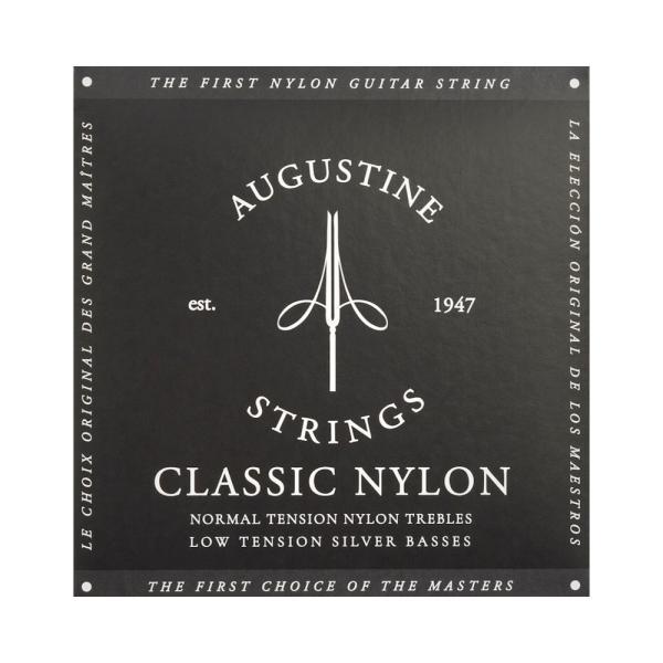 AUGUSTINE BLACK SET オーガスティン クラシックギター弦|chuya-online