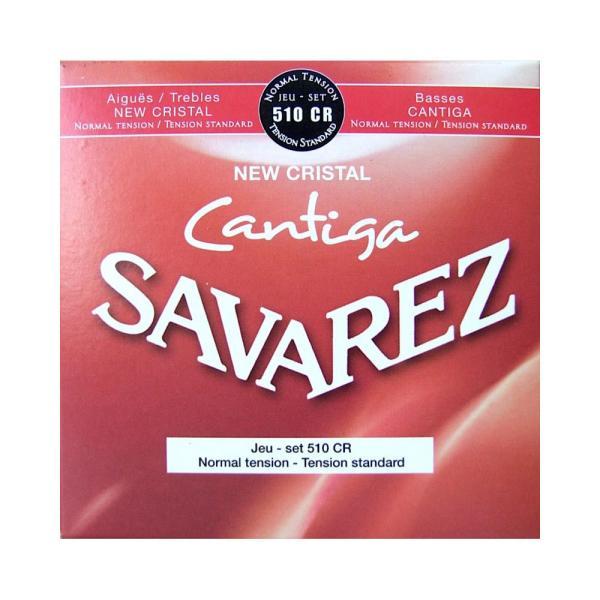 クラシックギター弦 ノーマルテンション サバレス SAVAREZ 510CR NEW CRISTAL Cantiga NORMAL TENSION SET