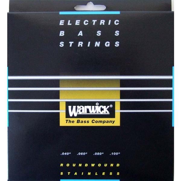 WARWICK 40210 BLACK stainless steel 4-string Set ML 040-100 ベース弦|chuya-online