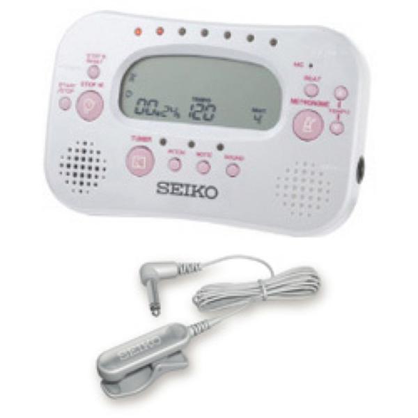 SEIKO STH100WP スペシャルパック メトロノームチューナー ピックアップマイク付き