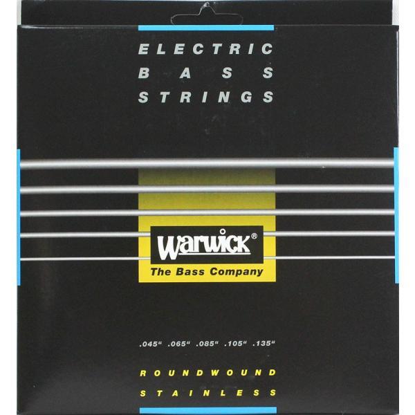 WARWICK 40301 BLACK stainless steel 5-string Set M 045-135 5弦ベース弦 chuya-online