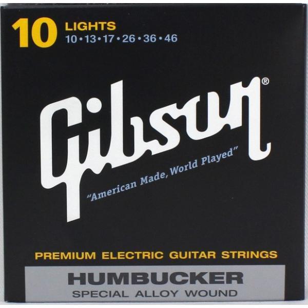 GIBSONSEG-SA10エレキギター弦×3セット