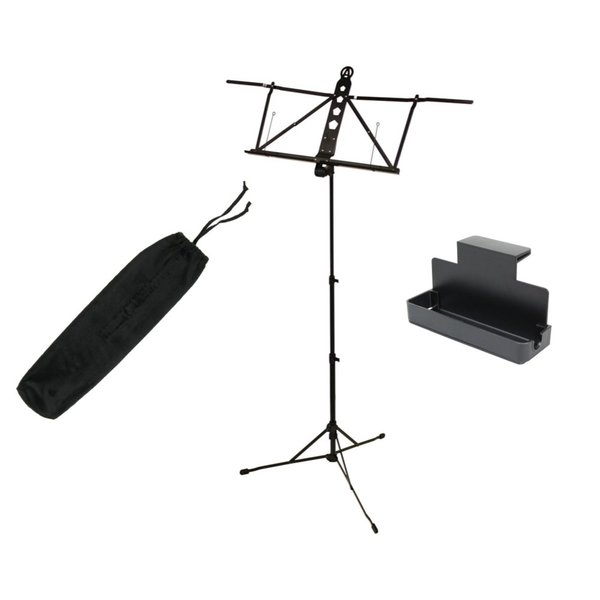 ARIA AMS-100 譜面台 Dicon Audio MS-TRK 譜面台トレイラック付きセット