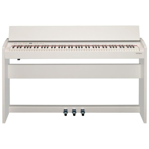 ROLAND F-140R WH 電子ピアノ 高低自在イス付き セット【組立設置無料サービス中】|chuya-online|04