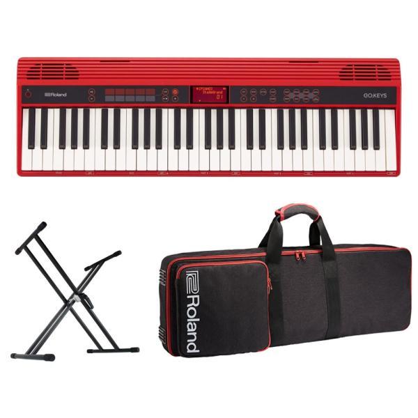 ROLAND GO-61K GO:KEYS Entry Keyboard エントリーキーボード 純正ケース/X型スタンド付きセット