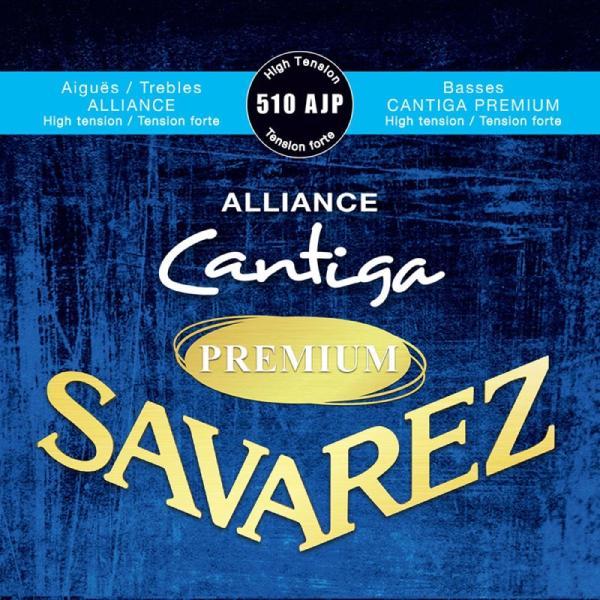 SAVAREZ510AJPHightensionALLIANCE/CantigaPREMIUMクラシックギター弦×3セット