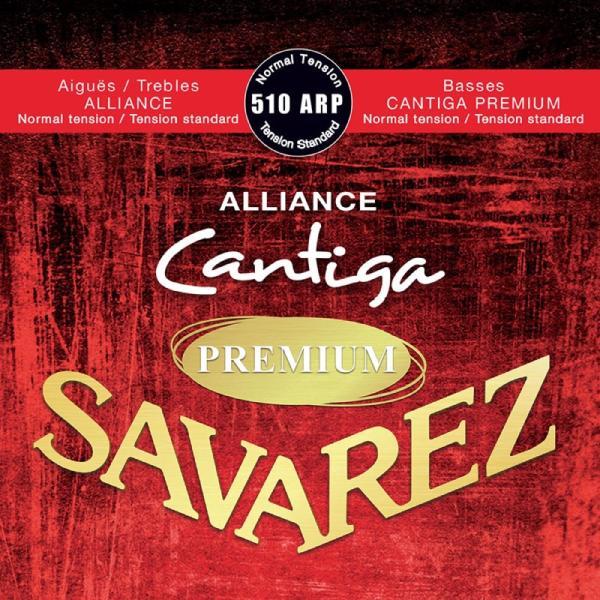 SAVAREZ510ARPNormaltensionALLIANCE/CantigaPREMIUMクラシックギター弦×6セット