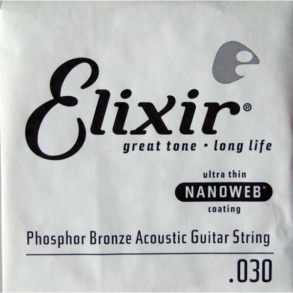 ELIXIR 14130/030弦/フォスファーブロンズ×4本