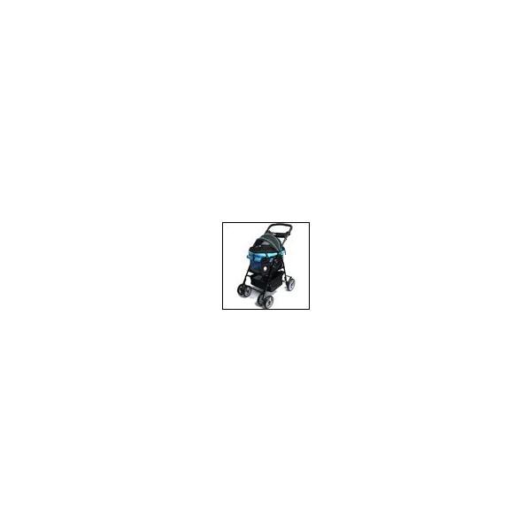 犬のバギー ディア・スイートハート カート ブラック/ブルー