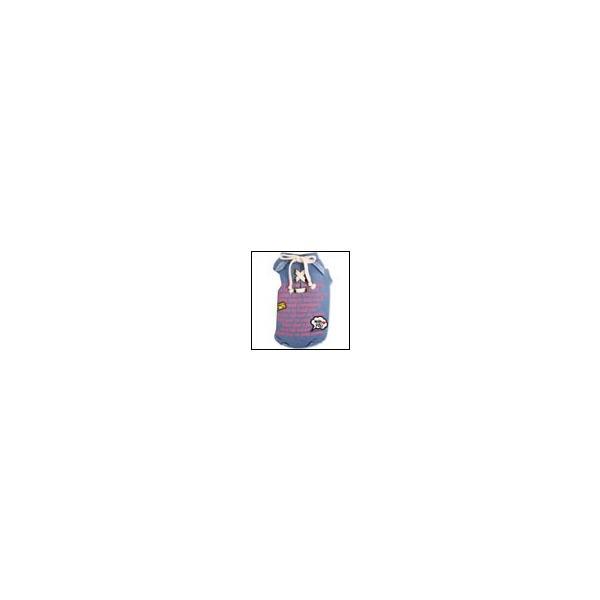 犬の服 秋冬 新作 メッセージ裏毛トレーナー ブルー Appleapple アップルアップル 洋服 ドッグウェア