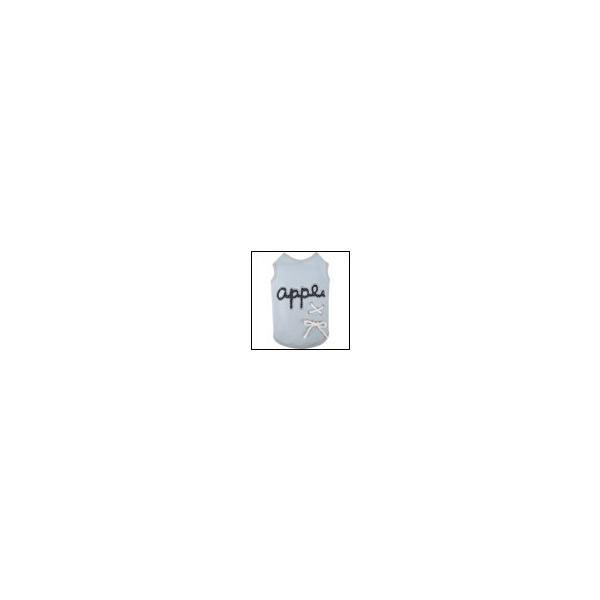 犬の服 春 夏 新作 ロゴタンクトップ ライトデニム Appleapple アップルアップル 洋服 ドッグウェア