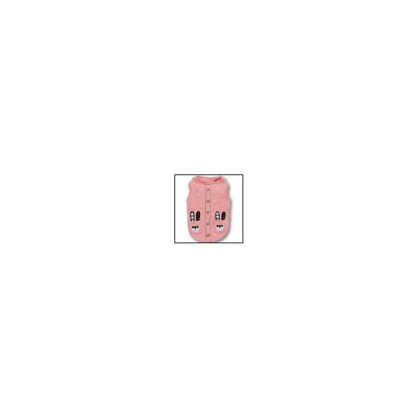 猫の服 秋 冬 新作 クマTシャツ ピンク LAMZY ラムジー 洋服 キャットウェア