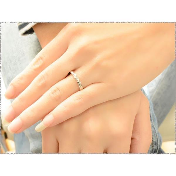 10金 結婚指輪 安い マリッジリング ホワイトゴールドk10 平打ち カットリング 10k ペアリング 2本セット メンズ レディース  指輪 母の日プレゼント