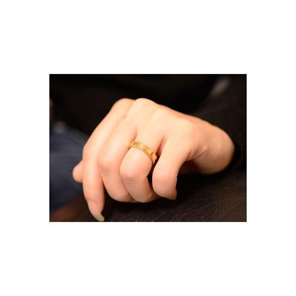 婚約指輪 18金 結婚指輪 安い マリッジリング ペアリング 18k ミル打ち 平ウチ イエローゴールドk18  レディース メンズ 指輪 ブライダル 母の日プレゼント
