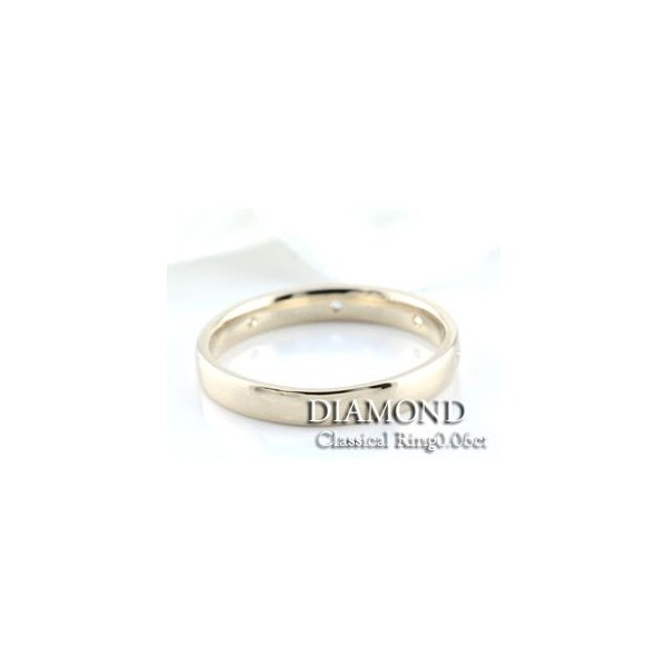 ダイヤモンド リング プラチナ レディース 結婚指輪 婚約指輪 エンゲージリング ミルウチ ダイヤモンドリング ピンキーリング 0.06ct pt900 母の日プレゼント